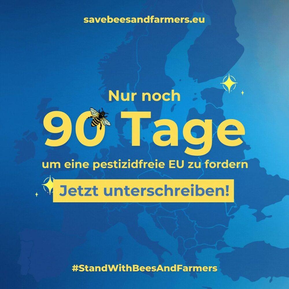 NUR NOCH 90 TAGE, UM MIT UNSERER EUROPÄISCHEN BÜRGERINITIA ...