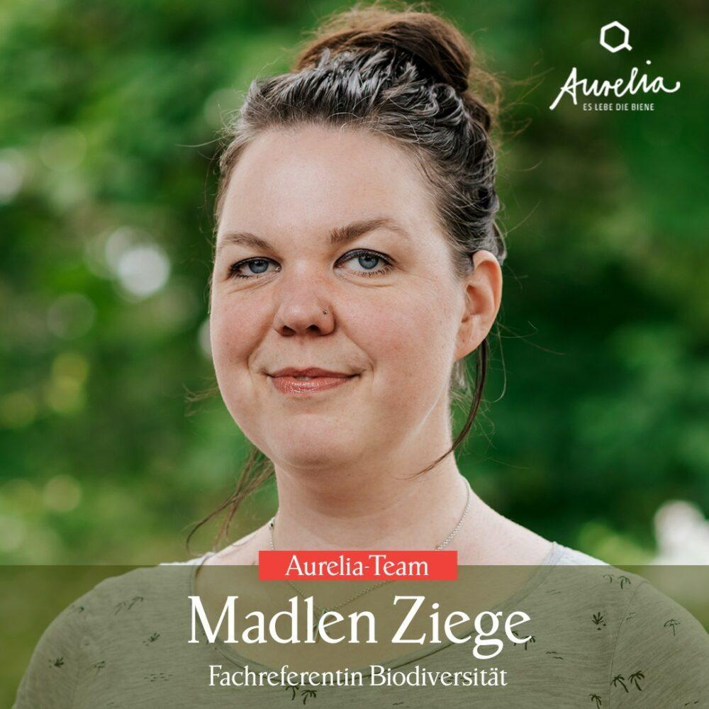 Dr. Madlen Ziege🐐 ist neu bei Aurelia. Sie ist seit Juli� ...